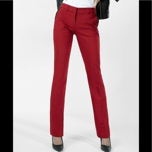 Express NWT Columnist Barely Boot Midrise Trousers